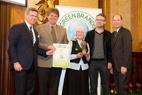 Andreas Gnesda Präsident ÖGV, Ilmar Tessmann, Rosalinde Tessmann, Noe Tessmann, Geor Lux Green Brands