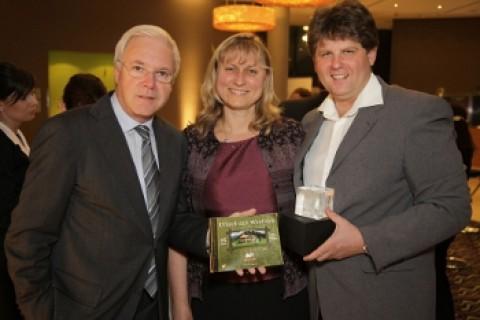 Gerhard Gucher, Sabine Franke und Ilmar Tessmann