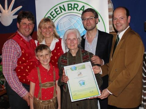 Green Brand Auszeichnung