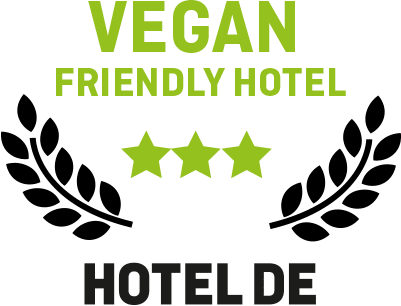 Logo vegan friendly hotel